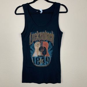 Vintage Small Town Graphic Tank Top